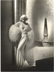 500 jean harlow 30s glamour silk robe